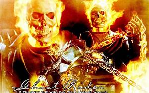 Bike fire Ghost Rider free desktop backgrounds and wallpapers