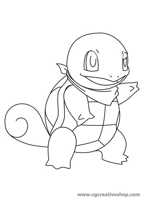 immagini di pokémon da disegnare squirtle dei disegno da colorare