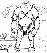 Coloring Forest Yeti Printable Sheets Doghousemusic Rhino Rhinoceros Living sketch template
