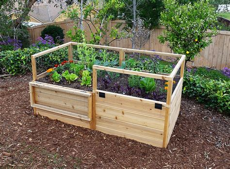 Gartenbeete Ideen by Garden Bed Raised Gardening Kit 6 X3 Outdoor Living Today