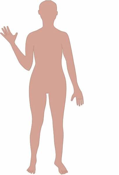Outline Human Clipart Cartoon Person Figure Clip