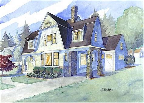 Shingle Style House Plans By Maine Coast Cottage Co
