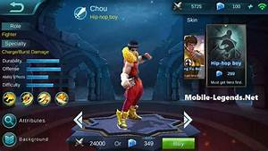 New Hero Chou Patch Notes 11461301 Mobile Legends
