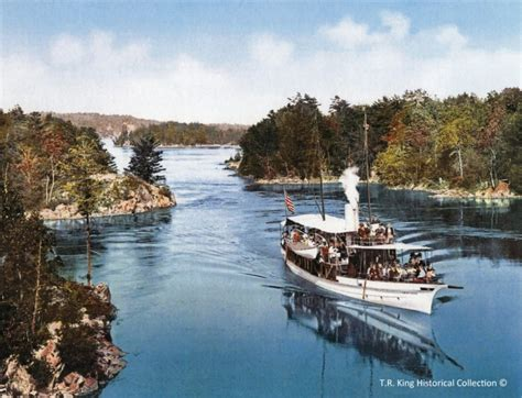 Thousand Islands Boat Tours by History Of Sam Boat Tours Part 1 Early Years