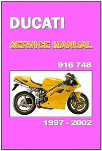 Ducati Workshop Manual 916  U0026 748 1997 1998 1999 2001