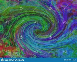 Colorful, Twisted, Spiral, Abstract, Background, Art, Stock