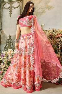 Lehenga for Party Pink Thread Work GC1307 Online Shopping
