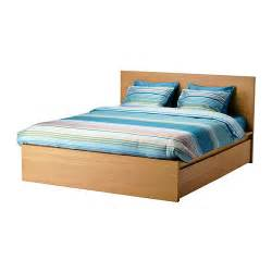 Malm bed frame high w storage boxes lur?y standard