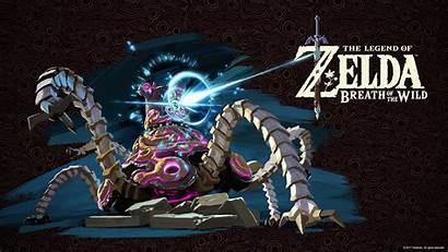 Zelda Breath Wild Desktop Wallpapers Legend Nintendo