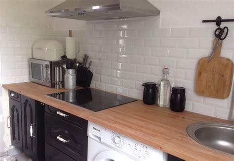 peinture meuble cuisine stratifié la crédence une vraie touche déco en cuisine trouver