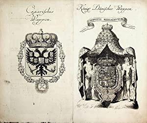 Wie weit ist es von dänemark nach russland? RUSSLAND- DÄNEMARK- Czaarisches Wappen / Königl. Dänisches ...