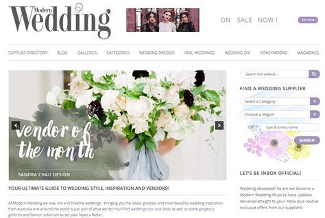 top 10 wedding blogs on the internet today wedding websites