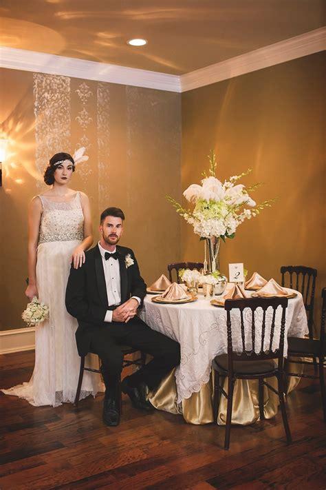 1920s wedding reception glamorous deco wedding inspiration chic vintage brides chic