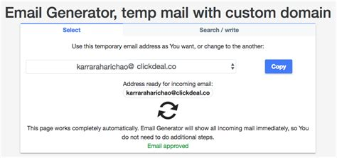 fake email generator   disposable emails