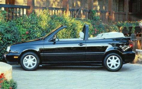 volkswagen convertible cabrio 1997 volkswagen cabrio information and photos zombiedrive