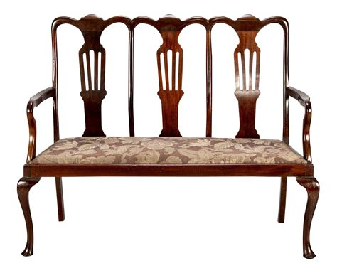 chippendale settee 1920 s mahogany high back chippendale style settee