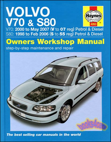 all car manuals free 2011 volvo s80 user handbook volvo shop manual haynes service repair book s 80 v 70 chilton workshop owners 9780857339072 ebay