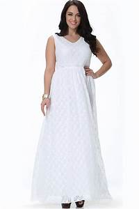 tomcarry women wedding sleeveless v neck plus size dress With long dresses to wear to a wedding