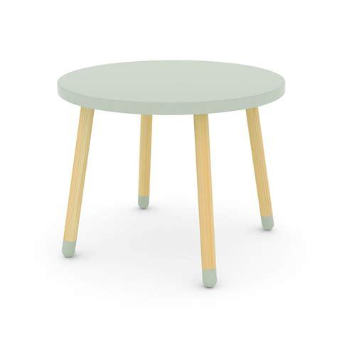 table pour chambre chambre fille vert pastel