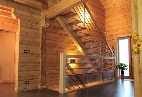 escalier flin en bois moderne photo 9 10 cet int 233 rieur est presque int 233 gralement