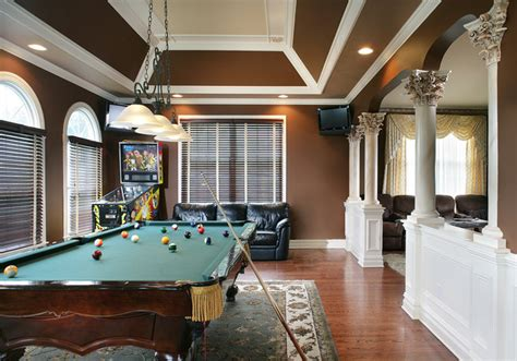 game room traditional family room new york by creative design construction inc