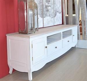 Tv Möbel Shabby Chic : porta tv legno bianco shabby mobili shabby chic online ~ Bigdaddyawards.com Haus und Dekorationen