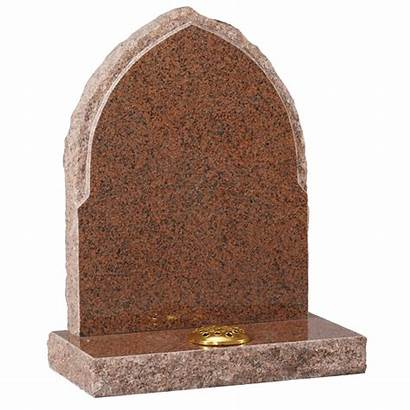 Gothic Headstone Churchyard Rustic Gravestones Edges Granite