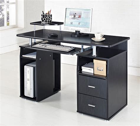 black glass computer desk black glass chrome computer desk trolley review and photo