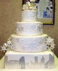 wedding cake design ideas winter wedding cake ideas weddingelation