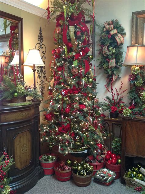 skinny christmas tree christmas decorating