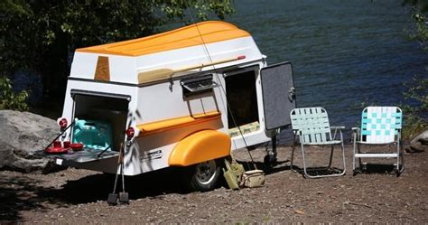 Row Boat Roof Rack by American Trailer Revives Vintage Cer With Rowboat