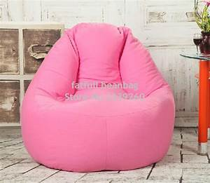 cover only no filler pink sofa bean bag seat outdoor With bean bag chair with back support