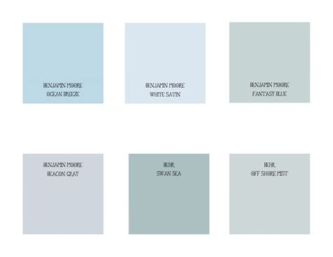 blue paint colors benjamin moore paint color chart newhairstylesformen2014 com