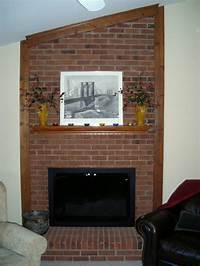 brick fireplace remodel Brick Fireplace Remodel Pictures | Fireplace Designs