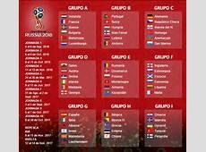 Eliminatorias Rusia 2018 Europa Calendario Fixture