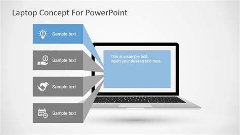 laptop concept  powerpoint slidemodel