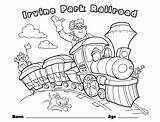 Coloring Children Train Pages Christmas Railroad Crossing Park Drawing Printable Rides Easter Irvine Boat Getcolorings Childrens Books Pumpkin Fun Wrong sketch template
