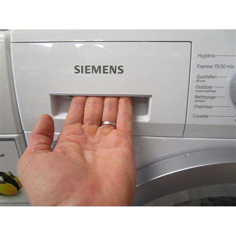 test siemens wm12n260ff iq300 lave linge ufc que choisir