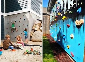 Kinderspielplatz Selber Bauen : die 25 besten kletterwand ideen auf pinterest kletterwand kinder indoor klettern und indoor ~ Buech-reservation.com Haus und Dekorationen
