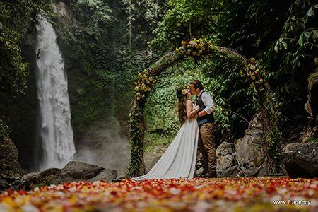 wedding in bali by the seven agency