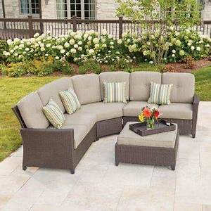 outdoor sectionals outdoor lounge furniture patio With sectional sofas home depot