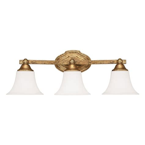Gold Bathroom Vanity Lights by Capital Lighting Blakely Antique Gold Bathroom Light
