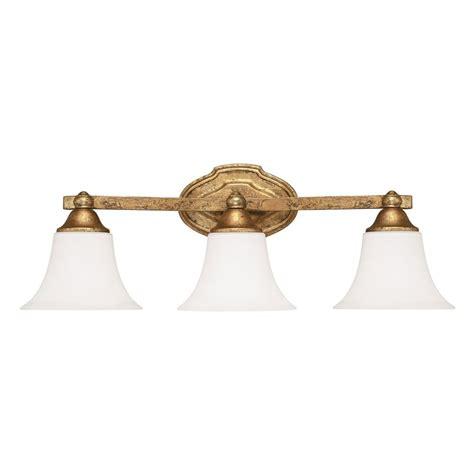 Capital Lighting Blakely Antique Gold Bathroom Light