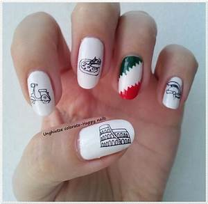 unghiutze colorate happy nails alphabet nail art With nail on letters