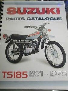 suzuki ts parts manual      ebay