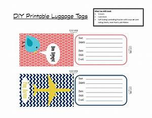 printable tags with that in mind ive created a set of With airline luggage tag template