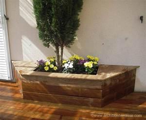 Découpe De Bois Sur Mesure : jardini re et bac de terrasse bois d coupe autour des v g taux ~ Melissatoandfro.com Idées de Décoration