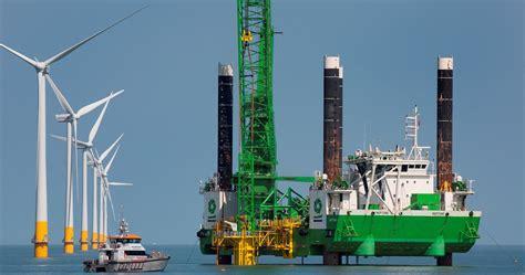 deme helps build  offshore wind farm focus  belgium