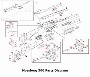 Mossberg 500    835 Exploded View
