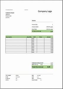 Rechnung Englisch Vorlage : kostenlose rechnungsvorlage herunterladen deutsche ~ Themetempest.com Abrechnung